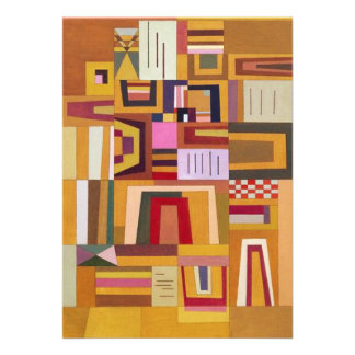 Kandinsky Compensation Rose Invitations