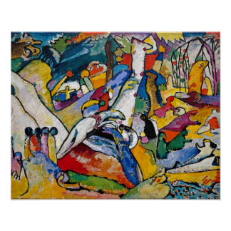 Kandinsky Composition 2 Posters