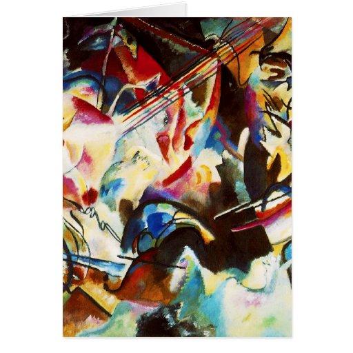 Kandinsky Composition VI Note Card