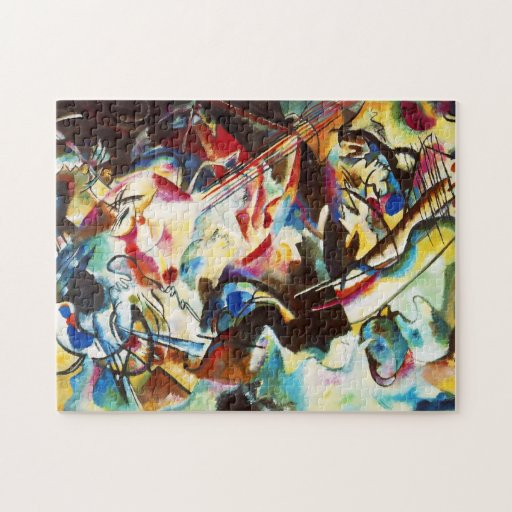 Kandinsky Composition VI Puzzle