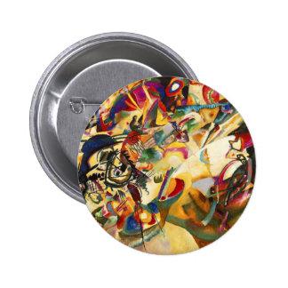 Kandinsky Composition VII Button