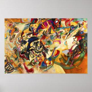 Kandinsky Composition VII Poster