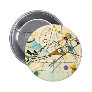 Kandinsky Composition VIII Button