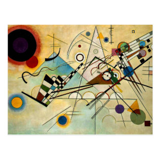 Kandinsky - Composition VIII Postcard