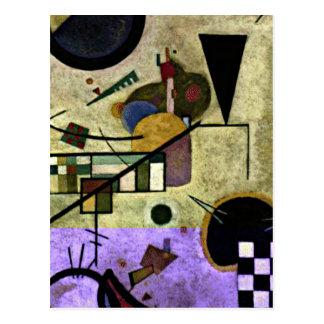 Kandinsky - Contrasting Sounds Postcard