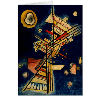 Kandinsky - Dark Places Note Card