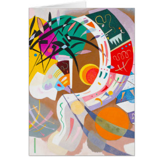 Kandinsky Dominant Curve Note Card