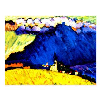 Kandinsky - Dunaberg Postcard