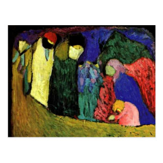 Kandinsky - Encounter Postcard