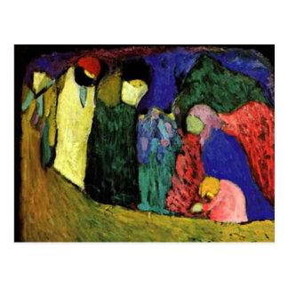 Kandinsky - Encounter Postcard