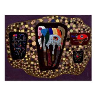 Kandinsky - Fragments Postcard