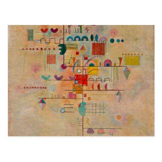 Kandinsky - Graceful Ascent Postcard