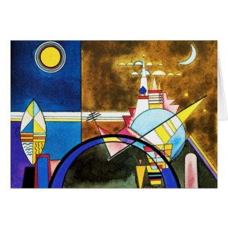 Kandinsky Great Gate of Kiev Greeting Card