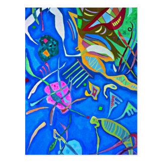 Kandinsky - Grouping Postcard