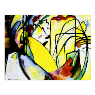 Kandinsky - Improvisation 10 Postcard