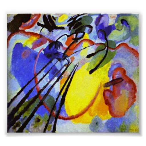 Kandinsky Improvisation 26 (Oars) Poster