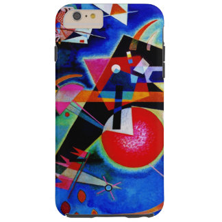 Kandinsky in Blue Abstract Painting Tough iPhone 6 Plus Case