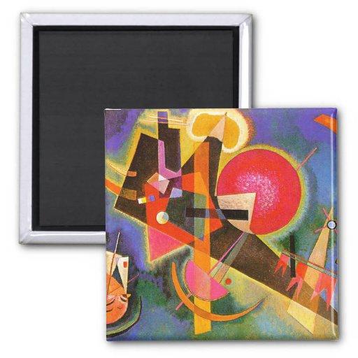 Kandinsky In Blue Magnet
