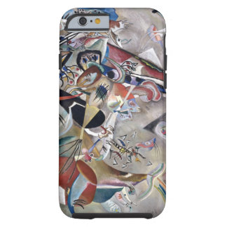 Kandinsky In Gray Abstract Painting Tough iPhone 6 Case