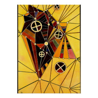 Kandinsky - In the Network Poster
