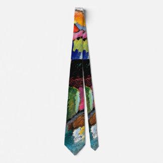 Kandinsky - Landscape with Factory Chimney Tie