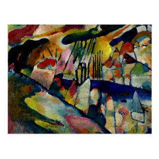 Kandinsky - Landscape with Rain Postcard
