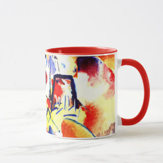 Kandinsky - Landscape with Red Spots Mug