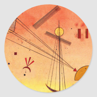 Kandinsky - Light Attachment Round Sticker