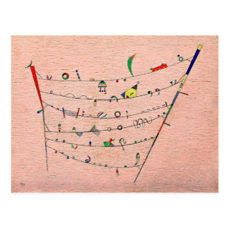 Kandinsky - Little Accents Postcard