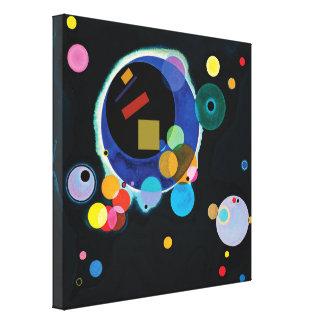 Kandinsky + Malevich Canvas Print