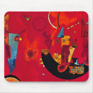 Kandinsky Mit und Gegen Mouse Pad