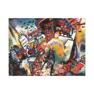 Kandinsky Moscow I Concert Abstract Painting Canvas Print