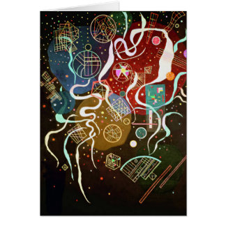 Kandinsky Movement I Greeting Card