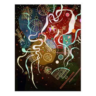 Kandinsky Movement I Postcard