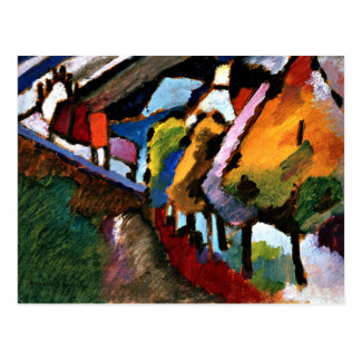 Kandinsky - Murnau Castle and Church Postcard
