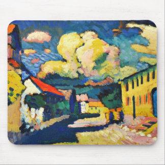 Kandinsky - Murnau, Dorfstrasse Mouse Pad