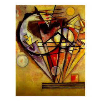 Kandinsky - On the Points Postcard