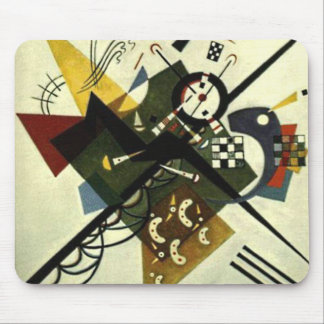 Kandinsky On White II Mouse Pad