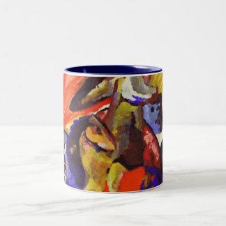 Kandinsky Painting Mug