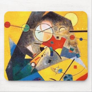 Kandinsky Quiet Harmony Abstract Art Mouse Pad