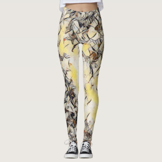 Kandinsky Rave Love Leggings