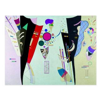 Kandinsky Reciprocal Accords Postcard