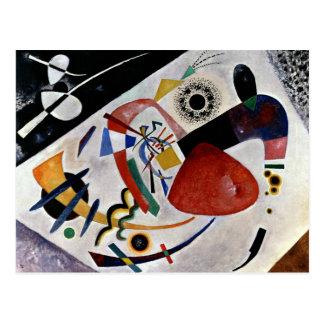 Kandinsky - Red Spot II Postcard