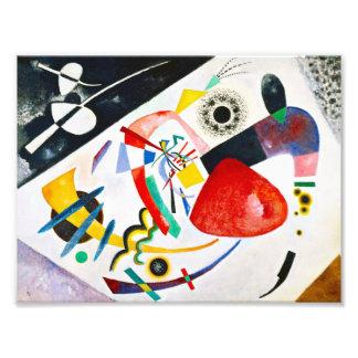 Kandinsky Red Spot Photographic Print