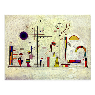 Kandinsky - Serious-Fun Postcard