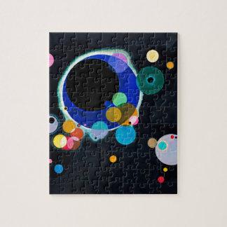 Kandinsky Several Circles Abstract Jigsaw Puzzle
