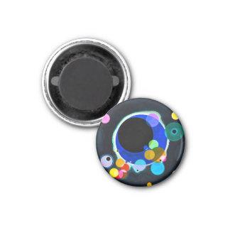 Kandinsky Several Circles Magnet