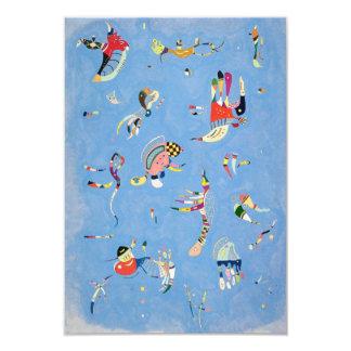 Kandinsky Sky Blue Invitations