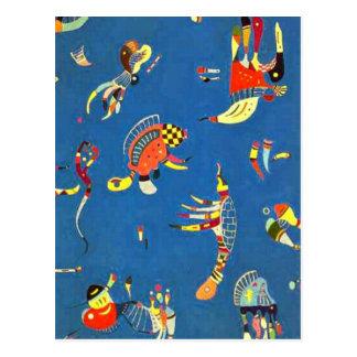 Kandinsky - Sky Blue Postcard
