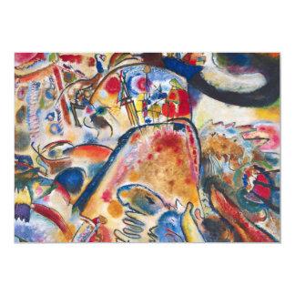 """Kandinsky Small Pleasures Invitations 5"""" X 7"""" Invitation Card"""